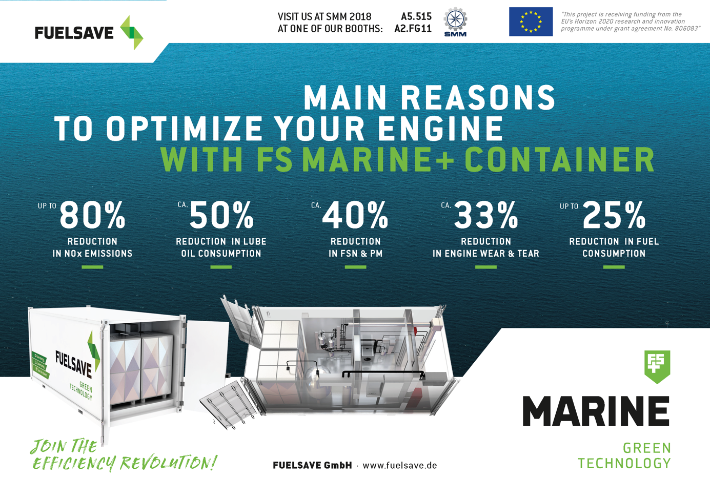 FS MARINE+ Come & Visit us at SMM 2018