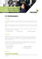 FS PERFORMANCE+ Flyer EN 2016