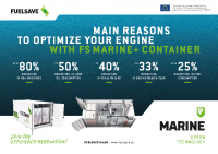 FS MARINE+ A5 Container Flyer 2018